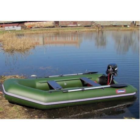 Лодка Хантер 290 Р, цвет зеленый