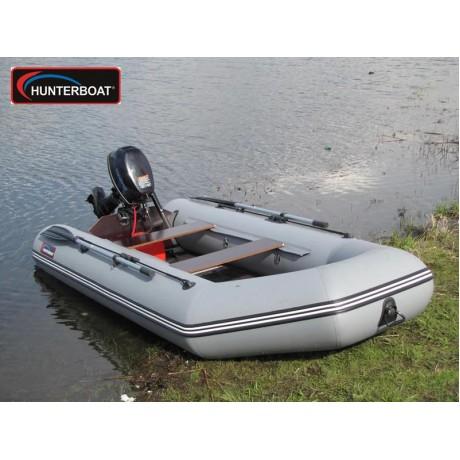 Лодка Хантер 320Л, цвет серый