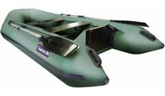 Лодка Хантер 290 Л, цвет зеленый