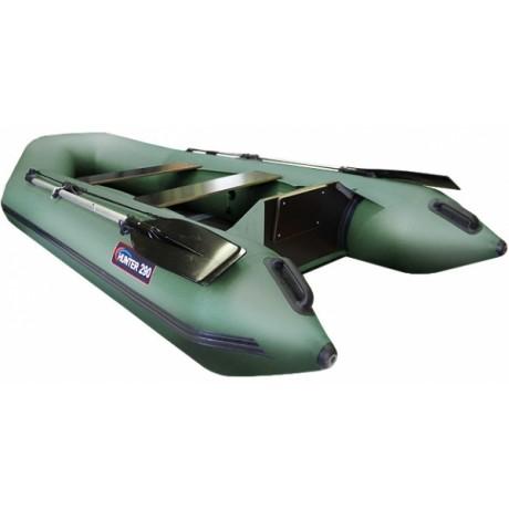 Лодка Хантер 290 ЛК, цвет серый