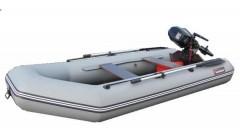 Лодка Хантер 320 ЛК, цвет серый