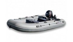 Лодка Хантер 360, цвет серый