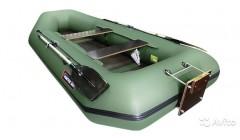 Лодка Хантер 300 ЛТ, цвет зеленый