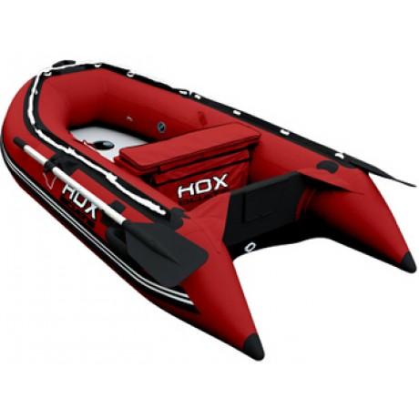 Лодка HDX серии Oxygen 240, цвет красный