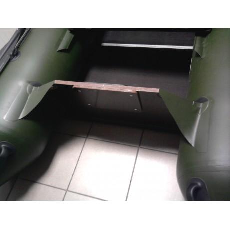 Лодка Хантер 320Л, цвет зеленый