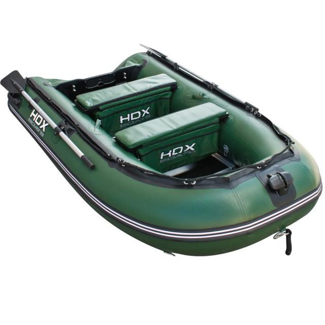 Лодка HDX серии Oxygen 300 Airmat, цвета зеленый