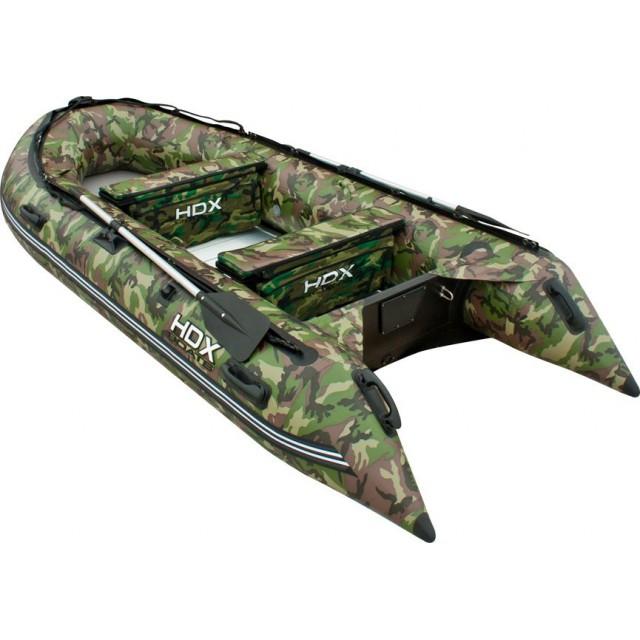 Лодка HDX серии Oxygen 330 Airmat, цвет красный