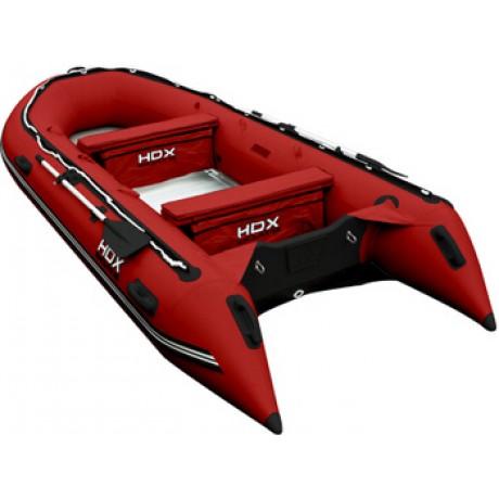 Лодка HDX серии Oxygen 370, цвет красный