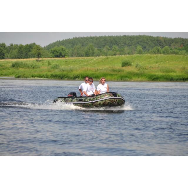 Лодка HDX серии Oxygen 370, цвет зеленый