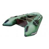 Лодка Хантер 320 ЛК, цвет зеленый
