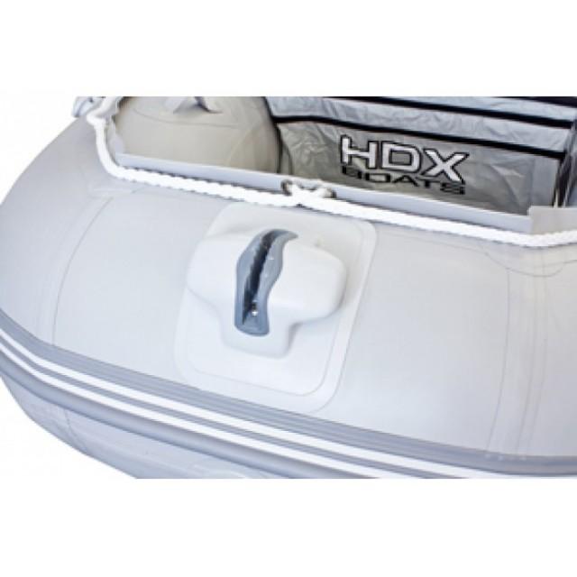 Лодка HDX серии Oxygen 390, цвет зеленый