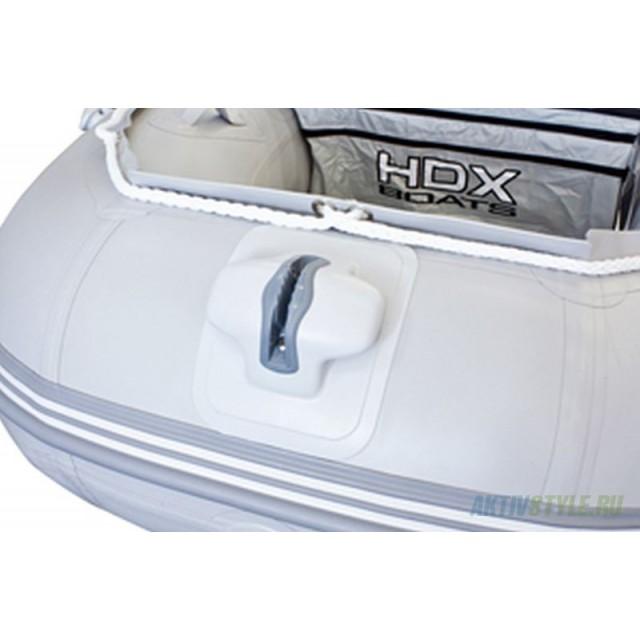 Лодка HDX серии Oxygen 430,цвет красный