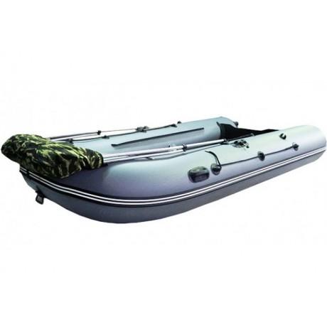Лодка Хантер 335, цвет зеленый