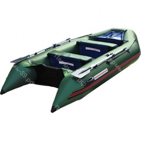 Лодка Nissamaran Musson 320, цвет зеленый