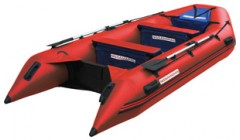Лодка Nissamaran Musson 360, цвет красный