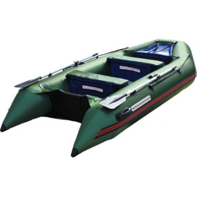 Лодка Nissamaran Tornado 320, цвет зеленый