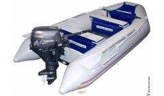 Лодка Nissamaran Tornado 320, цвет серый