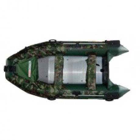 Лодка Nissamaran Tornado 360, цвет зеленый