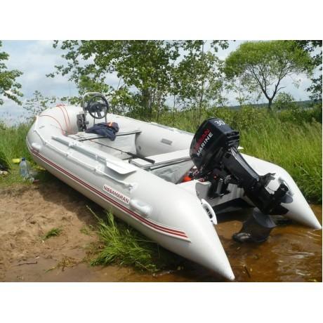 Лодка Nissamaran Tornado 420, цвет серый