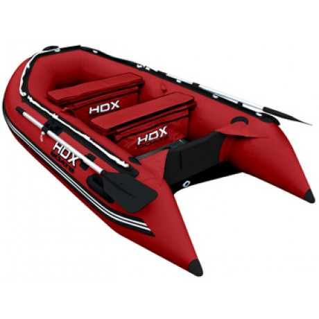 Лодка HDX серии Oxygen 300, цвет красный