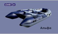 Лодка с алюминиевой палубой ДМБ Альфа 390