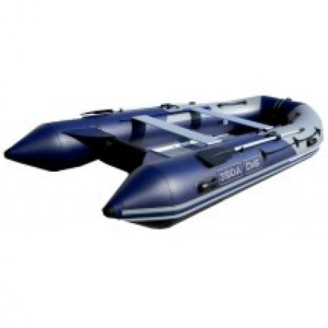 Лодка с алюминиевой палубой ДМБ Альфа 420