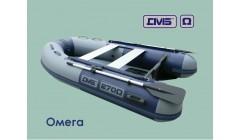 Лодка с надувным дном низкого давления ДМБ Омега 270