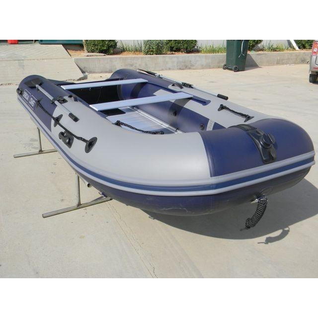 Лодка с надувным дном низкого давления ДМБ Омега 360