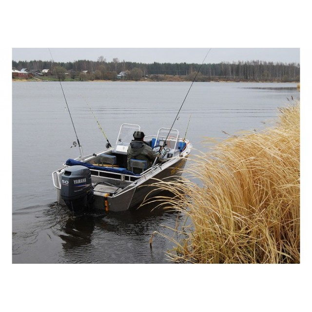 Лодка двухконсольная ДМБ 480ДК