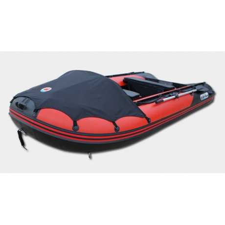 Лодка Sun Marine SDP 330, цвет красно черный