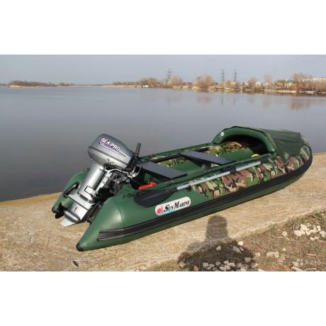 Лодка Sun Marine SDP 330, цвет зеленый камуфляж