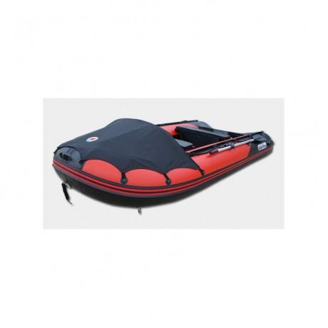 Лодка Sun Marine SDP 365, цвет красно черный