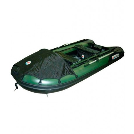 Лодка Sun Marine SDP 365, цвет зелено черный