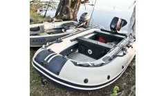 Лодка Sun Marine SDP 365, цвет зеленый камуфляж