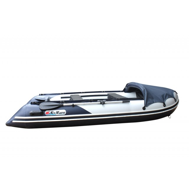 Лодка Sun Marine SDP 380, цвет серо синий
