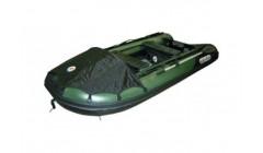 Лодка Sun Marine SDP 420, цвет зелено черный