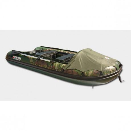 Лодка Sun Marine SDP 420, цвет зеленый камуфляж