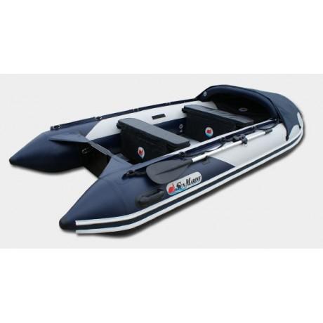 Лодка Sun Marine SDP 420, цвет серо синий