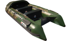 Лодка Sun Marine SDP 550, цвет зеленый камуфляж