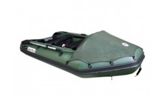 Лодка Sun Marine SM 420, цвет темно зеленый