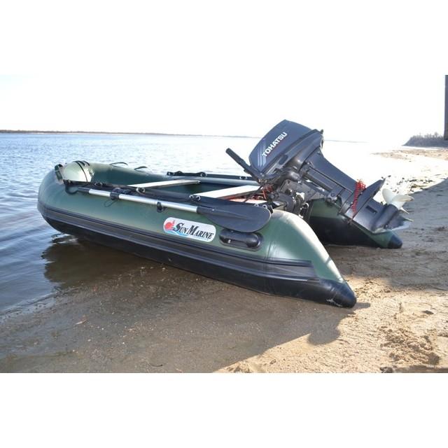 Лодка Sun Marine SA-330 IB, цвет серый