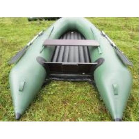 Лодка Solar-330, тёмно-зеленый