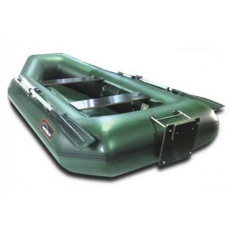 Лодка Хантер 280 Л, цвет серый