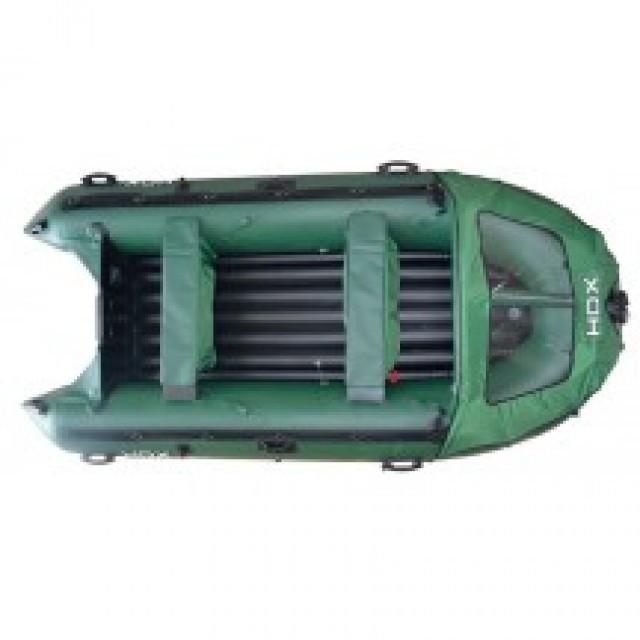Лодка HDX Helium 330 AirDek, цвет зеленый