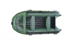 Лодка HDX Helium 370 AirDek, цвет зеленый