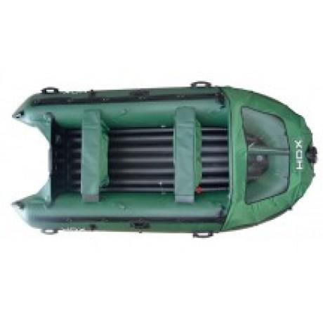 Лодка HDX Helium 390 AirDek, цвет зеленый