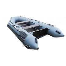 Лодка Хантер 340, цвет серый