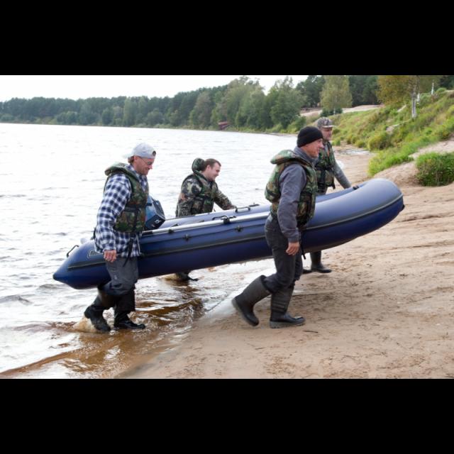 Надувная лодка НАВИГАТОР 350 Al