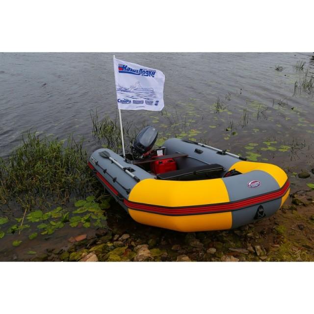 Надувная лодка СкайРа 370 Al
